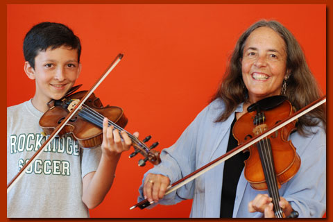 Robin Flower - Fiddle Lessons for Kids